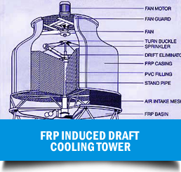 FRP-Induced-Draft-Cooling-Tower